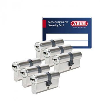 Abus Vela 1000 SKG3 - 6 cilinders met 18 sleutels