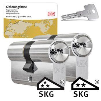 Dom IX Teco SKG3 - 2 cilinders met 6 sleutels