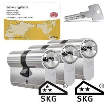 Dom IX Teco SKG3 - 3 cilinders met 9 sleutels
