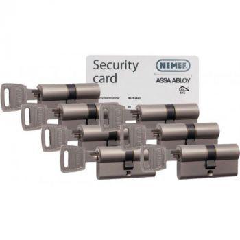 Nemef NF3 SKG3 - 7 cilinders met 21 sleutels