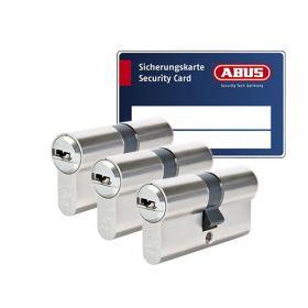 Abus Bravus 3000 SKG3 - 3 cilinders met 9 sleutels