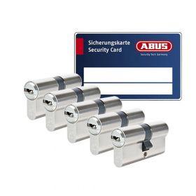 Abus Bravus 3000 SKG3 - 5 cilinders met 15 sleutels