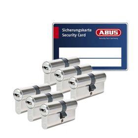 Abus Bravus 3000 SKG3 - 6 cilinders met 18 sleutels