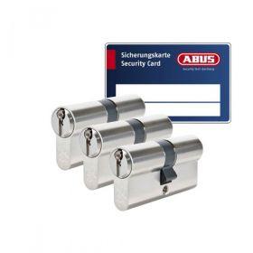 Abus S6+ SKG3 - 3 cilinders met 9 sleutels