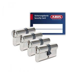 Abus S6+ SKG3 - 4 cilinders met 12 sleutels