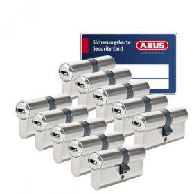 Abus Vela 1000 SKG3 - 10 cilinders met 30 sleutels