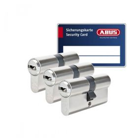 Abus Vela 1000 SKG3 - 3 cilinders met 9 sleutels
