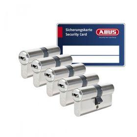 Abus Vela 1000 SKG3 - 5 cilinders met 15 sleutels