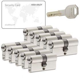 Assa Abloy K100 SKG2 - 10 cilinders met 30 sleutels