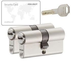 Assa Abloy K100 SKG2 - 2 cilinders met 6 sleutels