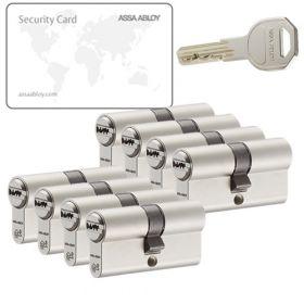 Assa Abloy K100 SKG2 - 8 cilinders met 24 sleutels