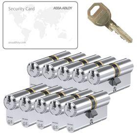 Assa Abloy C310 SKG3 - 10 cilinders met 30 sleutels