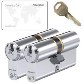 Assa Abloy C310 SKG3 - 2 cilinders met 6 sleutels