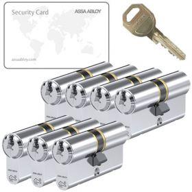 Assa Abloy C310 SKG3 - 7 cilinders met 21 sleutels