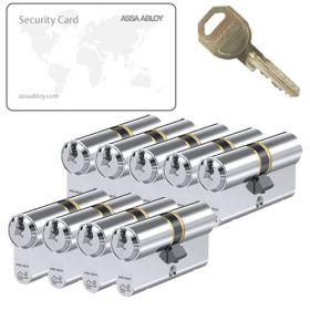 Assa Abloy C310 SKG3 - 9 cilinders met 27 sleutels
