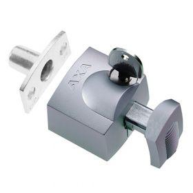 AXA 3012 Oplegslot Zilver SKG1