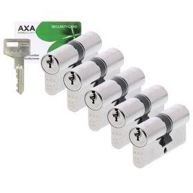 AXA Ultimate Security SKG2 - 5 cilinders met 15 sleutels