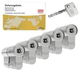 Dom Diamant SKG3 - 5 cilinders met 15 sleutels