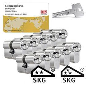 Dom IX Teco SKG2 - 10 cilinders met 30 sleutels