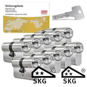 Dom IX Twido SKG2 - 10 cilinders met 30 sleutels