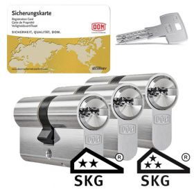 Dom IX Twido SKG2 - 3 cilinders met 9 sleutels