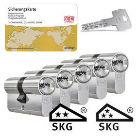 Dom IX Twido SKG2 - 5 cilinders met 15 sleutels