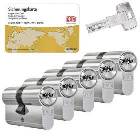 Dom IX Twinstar SKG3 - 5 cilinders met 15 sleutels