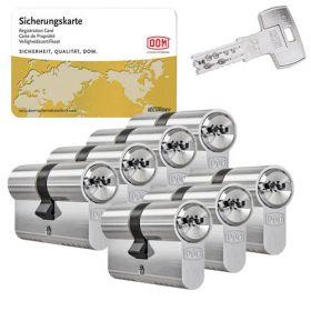 DOM IX Twinstar SKG3 - 7 cilinders met 21 sleutels