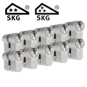 Dom Plura SKG2 - 10 cilinders met 30 sleutels