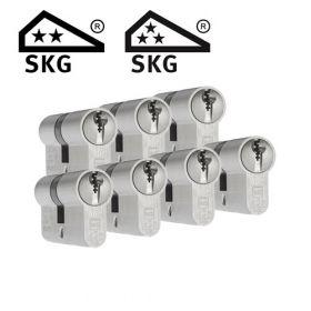 Dom Plura SKG2 - 7 cilinders met 21 sleutels