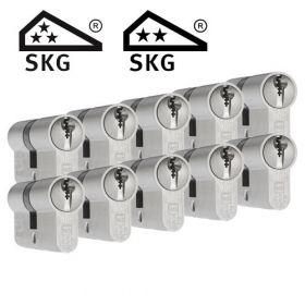 Dom Plura SKG3 - 10 cilinders met 30 sleutels