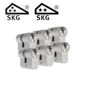 Dom Plura SKG3 - 6 cilinders met 18 sleutels