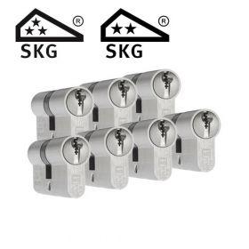 Dom Plura SKG3 - 7 cilinders met 21 sleutels