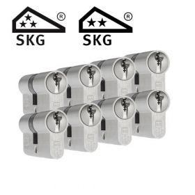 Dom Plura SKG3 - 8 cilinders met 24 sleutels