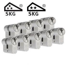 Dom Plura SKG3 - 9 cilinders met 27 sleutels