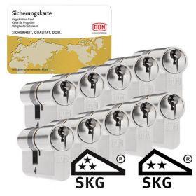 Dom Sigma Plus SKG3 - 10 cilinders met 30 sleutels
