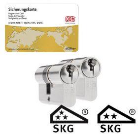 Dom Sigma Plus SKG3 - 2 cilinders met 6 sleutels