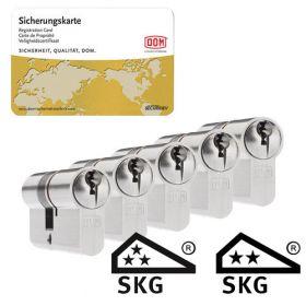 Dom Sigma Plus SKG3 - 5 cilinders met 15 sleutels