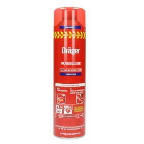 Dräger spray brandblusser voor voertuigen en vaartuigen
