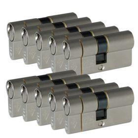 Iseo F6 Extra S SKG3 - 10 cilinders met 6 sleutels