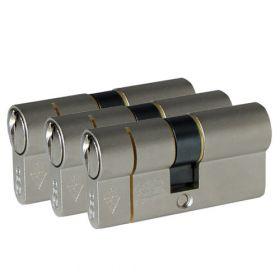 Iseo F6 Extra S SKG3 - 3 cilinders met 6 sleutels