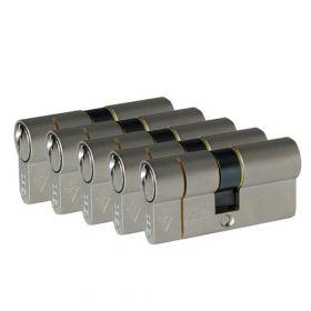 Iseo F6 Extra S SKG3 - 5 cilinders met 6 sleutels