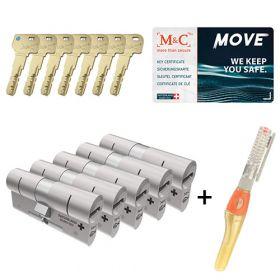 M&C Move SKG3 - 5 cilinders met 7 sleutels