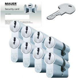 Mauer DT1 SKG3 - 8 cilinders met 24 sleutels