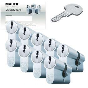 Mauer DT1 SKG3 - 9 cilinders met 27 sleutels