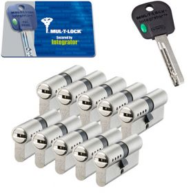 Mul-T-Lock Integrator SKG3 - 10 cilinders met 5 sleutels