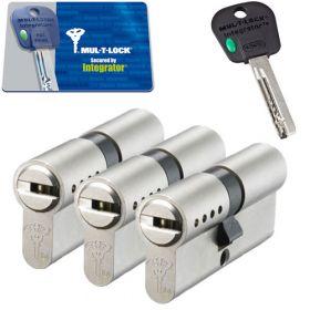 Mul-T-Lock Integrator SKG3 - 3 cilinders met 5 sleutels