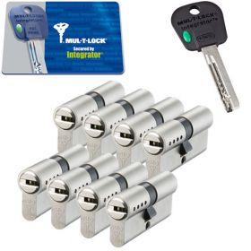 Mul-T-Lock Integrator SKG3 - 8 cilinders met 5 sleutels