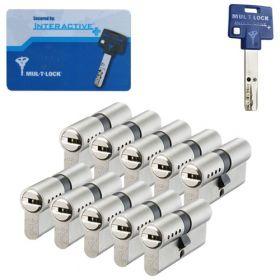 Mul-T-Lock Interactive+ SKG3 - 10 cilinders met 5 sleutels
