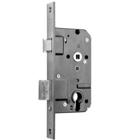 Nemef 4139 veiligheidsslot recht PC72 doornmaat 50 mm SKG2